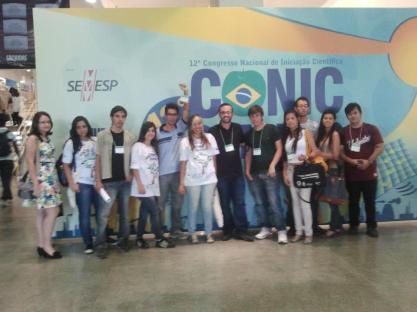Alunos do Univem durante o CONIC 2012