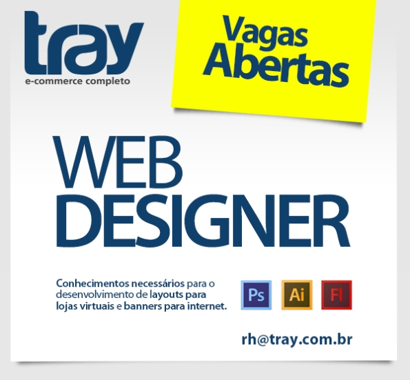 Tray contrata Web Designer