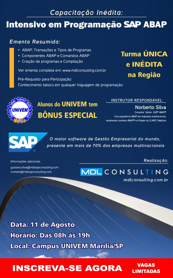 Intensivo em Programação SAP ABAP