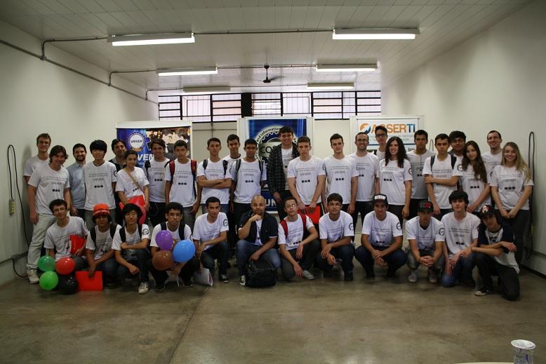 Participantes da 1ª Olimpíada de Informática para Alunos do Ensino Médio