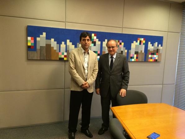 Reunião define instalação de escritório regional do SEPROSP em Marília