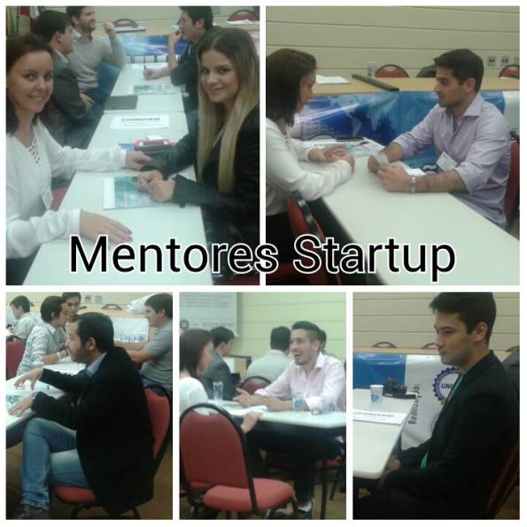 Mentoria dos projetos no Startup Pitch Day