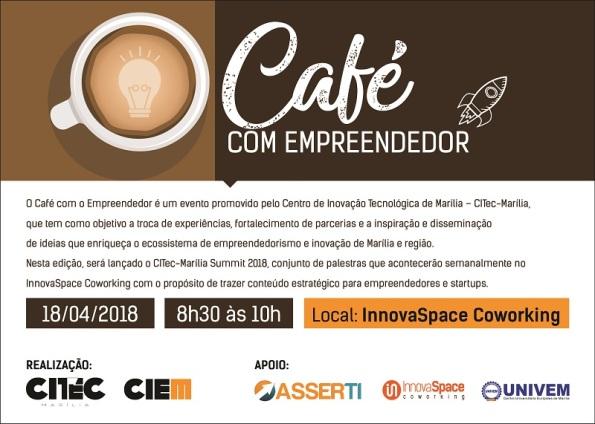 Convite_Café com Empreendedor