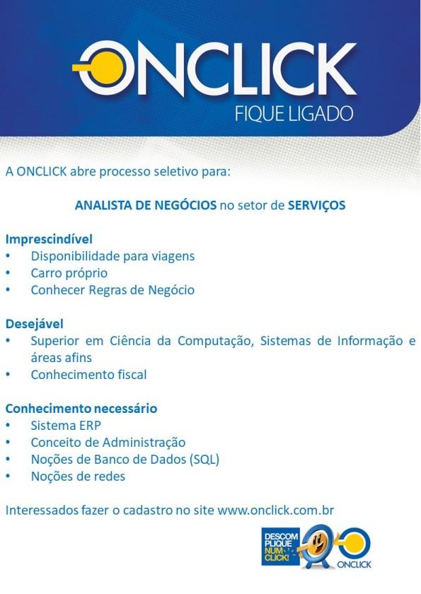 CH - Fique Ligado - Analista de Negócios Serviços - jan-18